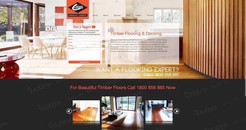 Flooring website