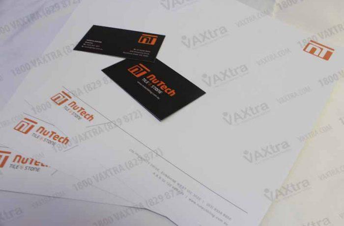 Graphic design stationery