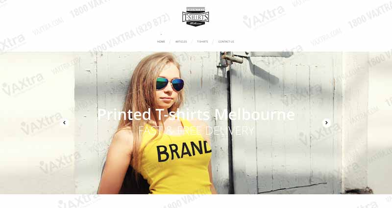 Printing t shirts website vaxtra for T shirt printing website